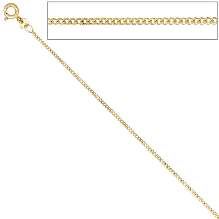 sigo panzerkette 333 gelbgold 1 3 mm 40 cm gold kette halskette goldkette federring goettgen. Black Bedroom Furniture Sets. Home Design Ideas