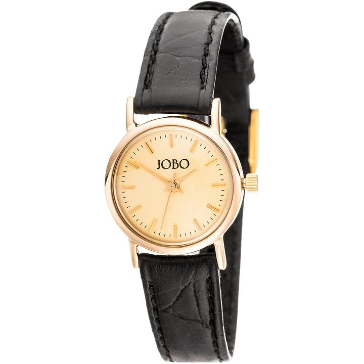 jobo damen armbanduhr quarz analog 585 gold gelbgold. Black Bedroom Furniture Sets. Home Design Ideas