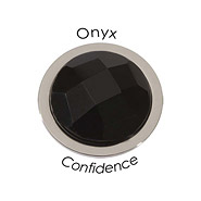 Wechsel-Münze Facet, Confident, Black Onyx, S